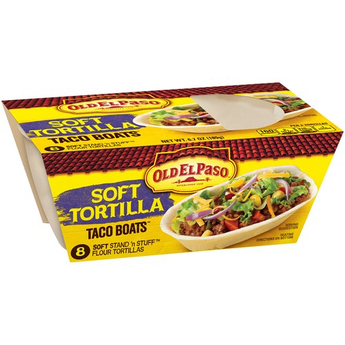 Old El Paso® Stand 'n Stuff™ Soft Flour Tortillas 8 ct. Pack