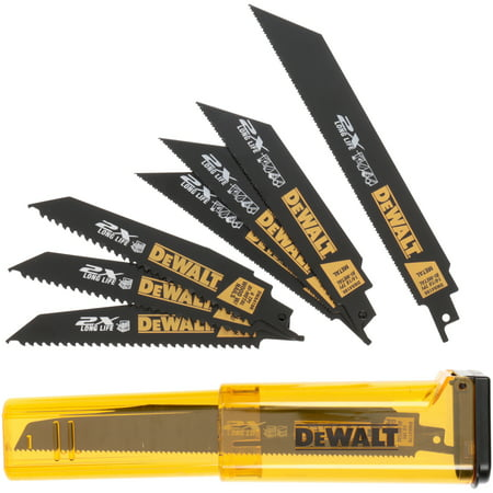 DeWalt�� Reciprocating Saw Blade Kit 8 pc Pack