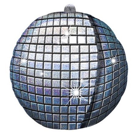 Disco Ball Foil Balloon - Disco Ball Balloons