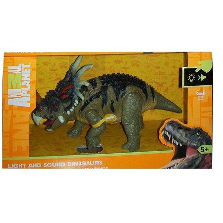 Light and Sound Dinosaur - Styracosaurus, By Animal Planet Ship from US - Dinosaur Animal Planet