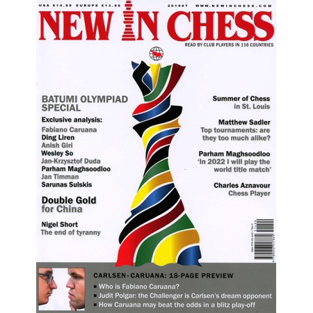 New in Chess Magazine 2018/7 : Read by Club Players in 116