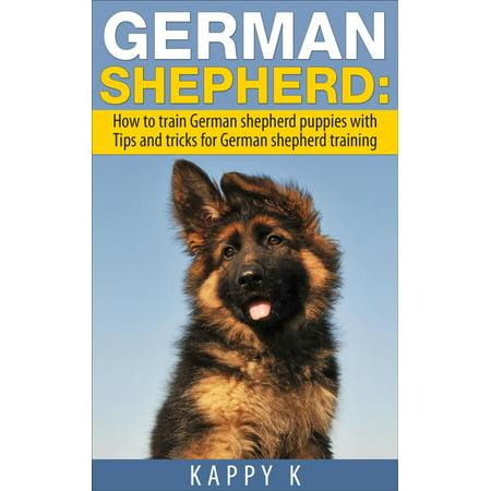 German Shepherd Training: How to Train German Shepherd Puppies with Tips & Tricks for German Shepherd Training -