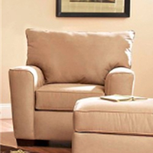 KlaussnerFurniture 012013110263 Klaussner Heather Chair, Khaki