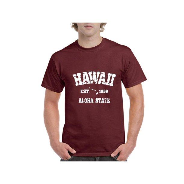 Mens Hawaii Short Sleeve T-Shirt