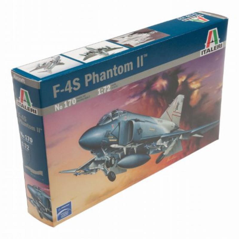 F-4S Phantom 1 72 Model Airplane Italeri by Italeri