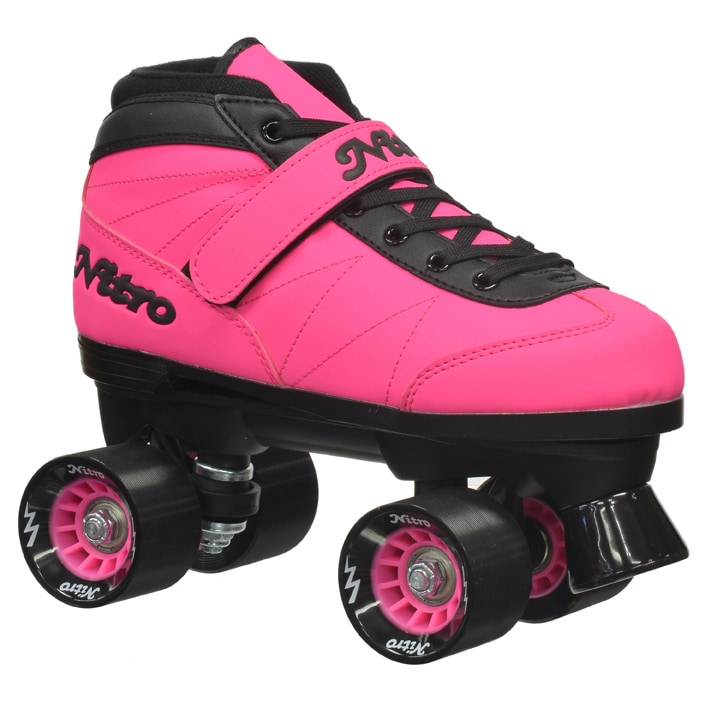 Epic Women's Nitro Turbo Pink Quad Speed Roller Skates