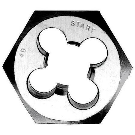 Vermont American  20768 1-inch 0.25 20 NC Hexagon Fractional Die - Nc Hexagon Die