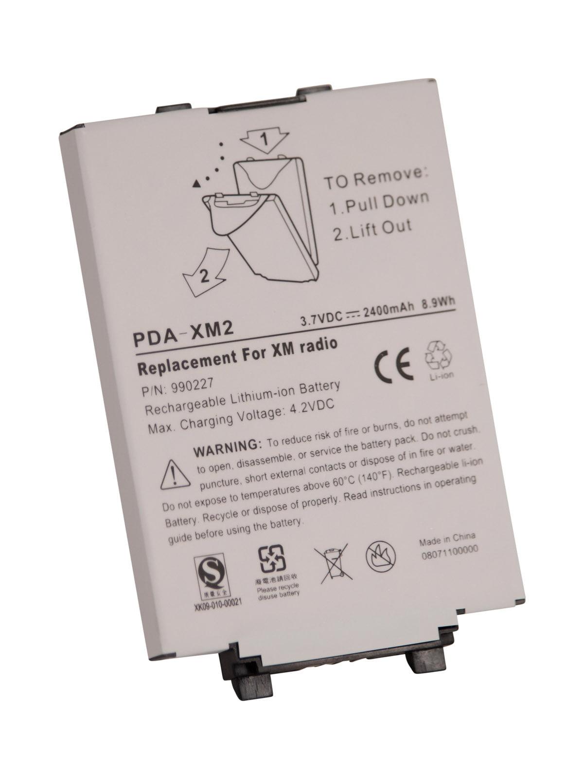 Ultralast Replacement Satellite Radio Battery 37 Volt Lithium Ion