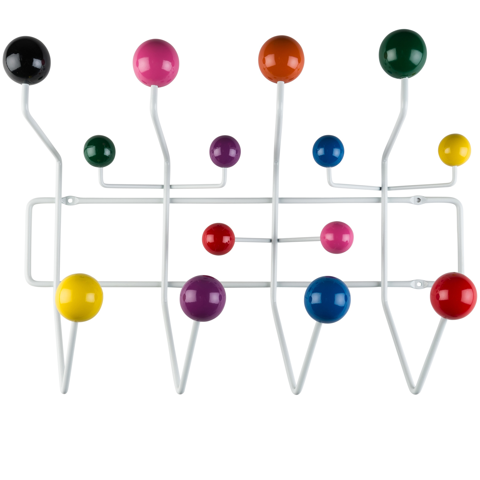 Poly and Bark Sphere Coat Rack in MultiColor