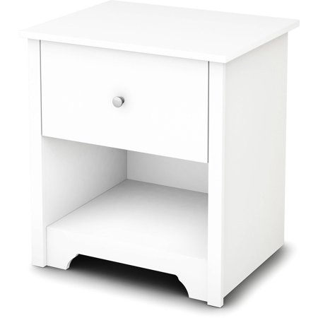 South Shore Vito 1 Drawer Nightstand Multiple Finishes