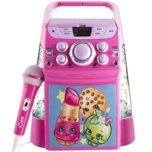 Sakar KO2-11033 Shopkins Flashing Lights with Water Karaoke