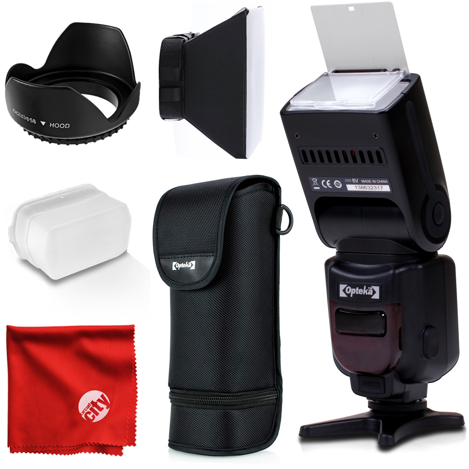 Includes Neutral, Green Opteka Tri-Color Hard Flash Diffuser for The Nikon SB-900 Flash Warming Gold Cooling