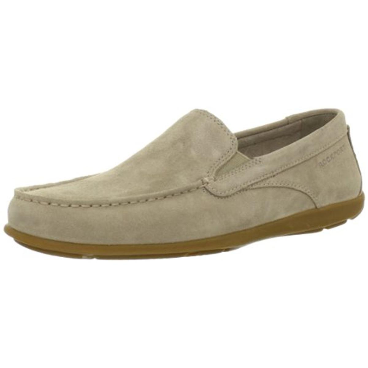 rockport mens leather slip on casual shoes walmart
