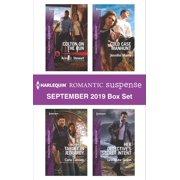 Harlequin Romantic Suspense September 2019 Box Set - eBook