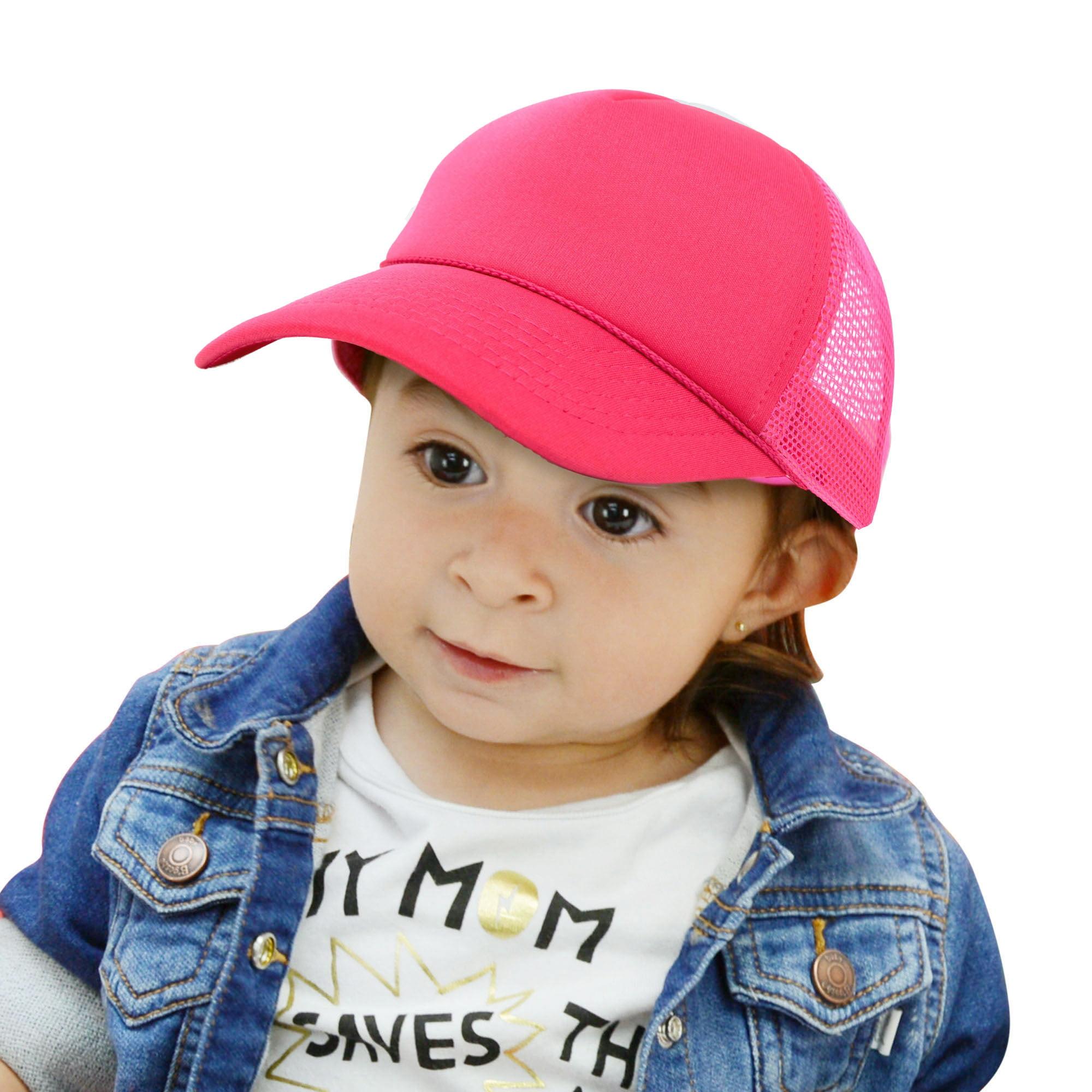 Dalix Dalix Infant Trucker Hat Baby Cap Tiny Extra Small Girls Boys In Gold White Walmart Com Walmart Com