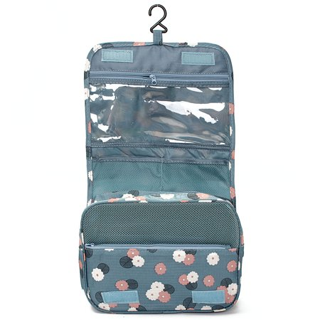 Portable Hanging Toiletry Bag/ Portable Travel Organizer Carry Tote Cosmetic Bag for Women Makeup or Men Shaving Kit with Hanging Hook for vacation  - image 6 of 6