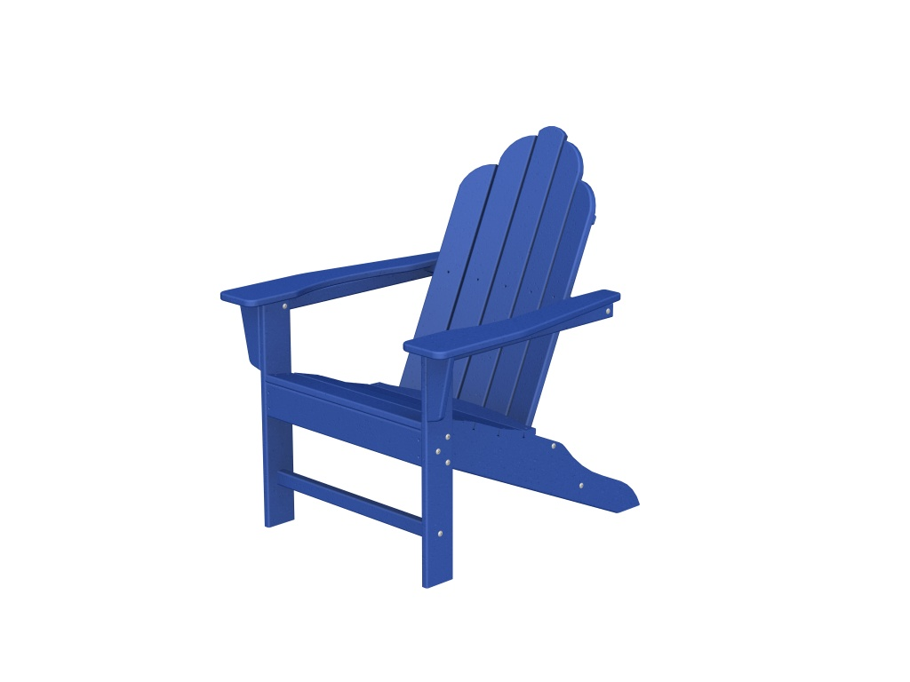 Recycled Plastic Long Island Adirondack Chair by Poly-Wood Adirondack