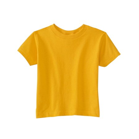 A Product of Rabbit Skins Toddler Cotton Jersey T-Shirt - GOLD - 7 [Saving and Discount on bulk, Code Christo] - Leaves Of Gold
