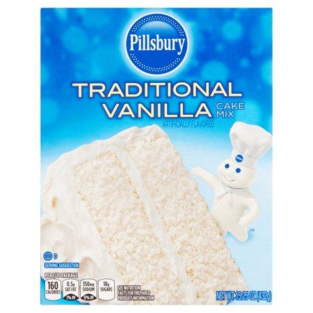 Pillsbury Traditional Vanilla Cake Mix