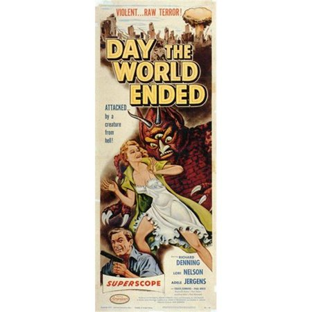 Posterazzi MOV251954 Day the World Ended Movie Poster - 11 x 17 in. - image 1 de 1