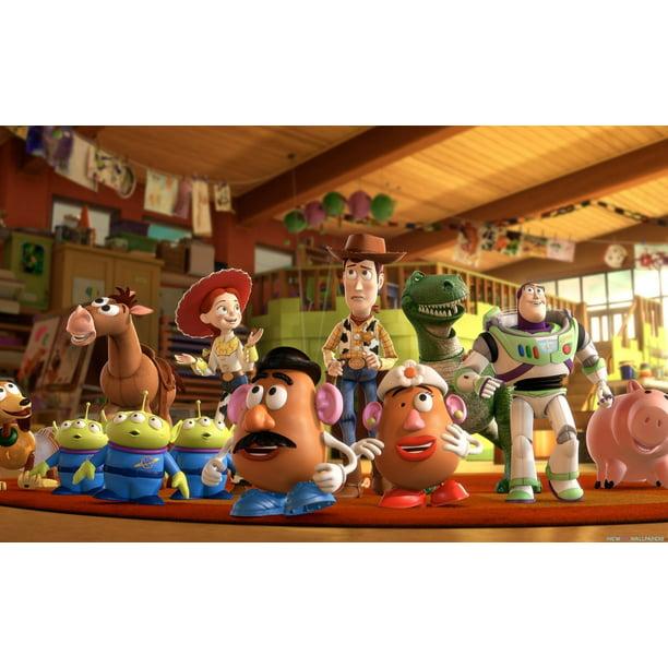 Tremendous Toy Story Mr Potato Head Birthday Cake Topper Edible Image 1 4 Personalised Birthday Cards Arneslily Jamesorg