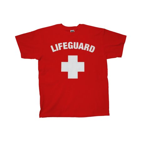 Life Guard T-Shirt Logo Design - Dog Lifeguard Shirt