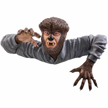 The Wolf Man Grave Walker Halloween Decoration](Easy Halloween Decorations For The Yard)