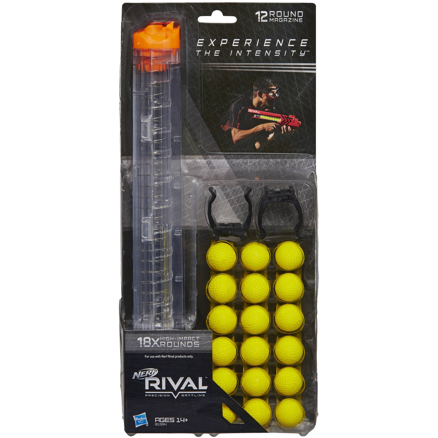 Nerf Rival 18-Round Refill and 12-Round Magazine by Hasbro