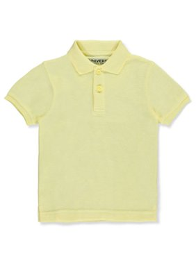 Universal Little Boys' S/S Pique Polo (Sizes 4 - 7) - red, 7