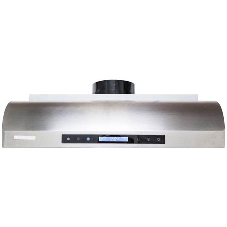 Zephyr Europa Series Hoods - PX14-U30 30 Ultra Series Under Cabinet Hood with 900 CFM  55 dBA  2 LED Lighting  2 Ultra Quiet Motors  2 Squirrel Cage Blower and Electronic Control  in Stainless Steel