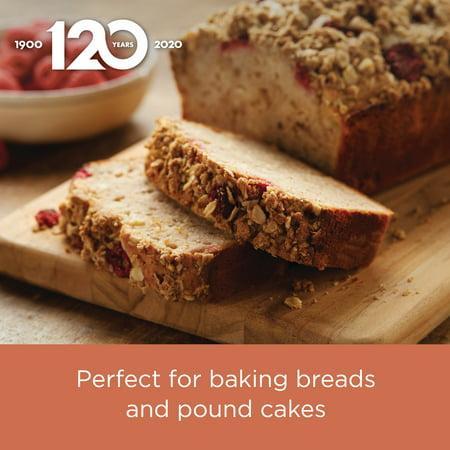 Farberware 9-Inch x 5-Inch Nonstick Bakeware Loaf Pan, Gray