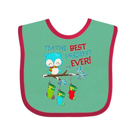 I'm the Best Present Ever!- cute Christmas owl Baby