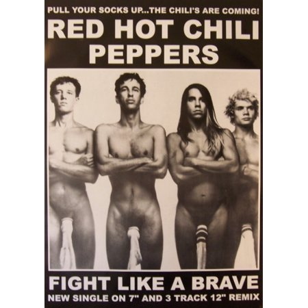 The Great Chile Poster - Red Hot Chilli Peppers Socks Poster Poster Print
