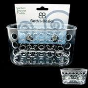 1 Shower Caddy Bath Bathroom Organizer Storage Basket Soap Holder Suction Cups