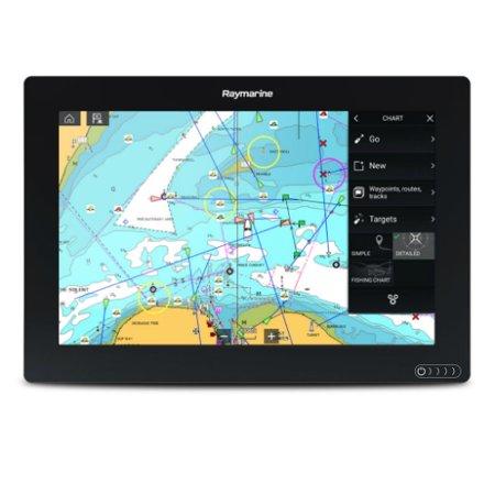 Chartplotter Charts - Raymarine E70368-00-LNC Axiom 12 Chartplotter with LNC Chart - Lighthouse USA