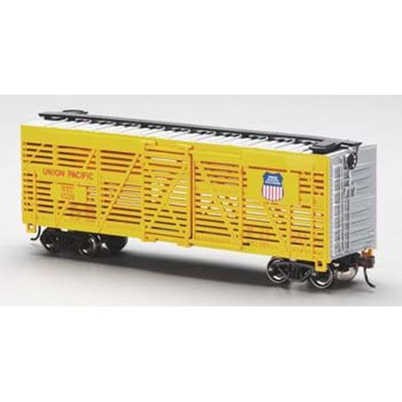 Union Pacific 40 Stock Car Ho Scale Train