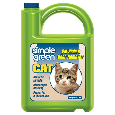 Cat Odor Remover - Simple Green 1 gal. Cat Pet Stain and Odor Remover