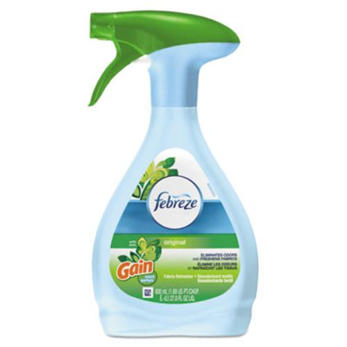 Procter & Gamble 47804CT Fabric Refresher & Odor Eliminator, Gain Original, 27 Oz Spray Bottle, 6/carton