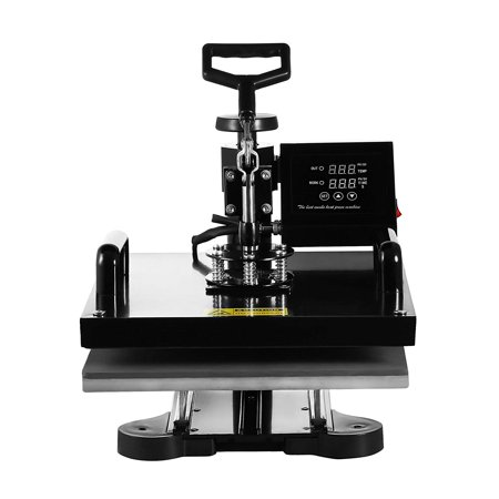 Mcruffy Press - BestEquip 6 in 1 Heat Press Machine Swing Away Digital Sublimation Heat Pressing Transfer Machine for T-Shirt/Mug/Hat Plate/Cap 15 x 15