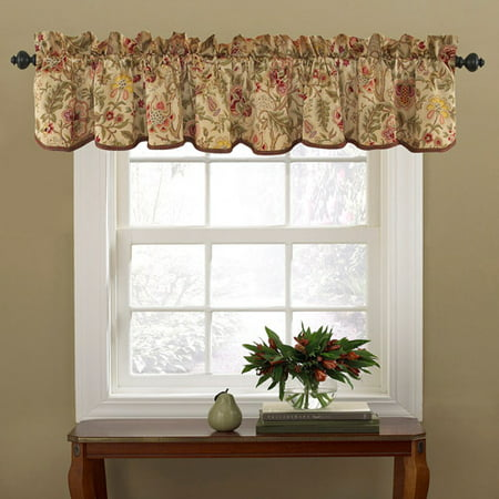 Waverly Imperial Dress Window Valance, Antique