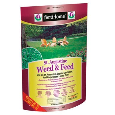Ferti-lome St. Augustine Weed & Feed Lawn Fertilizer With Weed