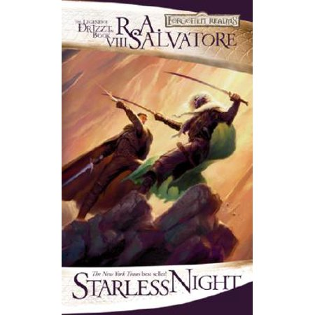 Starless Night : The Legend of Drizzt, Book VIII (12 Nights Of Halloween Book)