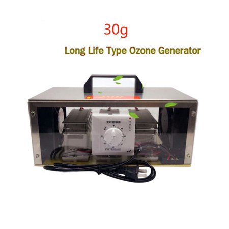 30g Ozone Generator Air Purifier Long Life Disinfection Machine W/Timing Switch