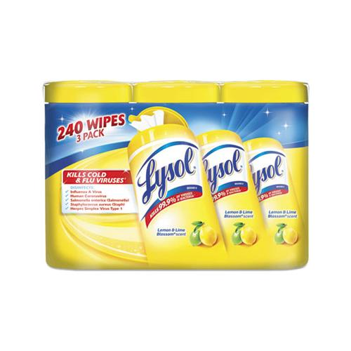 LYSOL® Brand Wipes,Dsnft,80/Cntr,6/Ct 84251CT