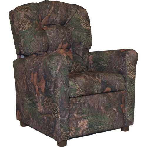 Brazil Furniture Mixed Pine Camo Kids Recliner  sc 1 st  Walmart : kid sized recliner chairs - islam-shia.org