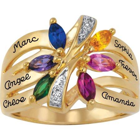 Personalized Keepsake Bouquet Ring