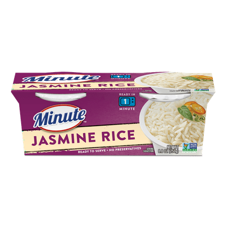 Minute Microwaveable Jasmine Rice - 8.8oz 2ct