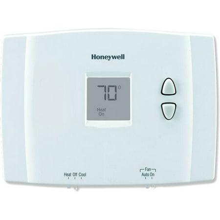 Honeywell RTH111B1016/U Digital Non-Programmable (Dual Voltage Programmable Thermostat)