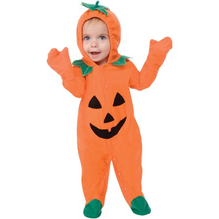 Living fiction lil pumpkin halloween baby infant costume, orange S - Halloween Costumes At Babies R Us