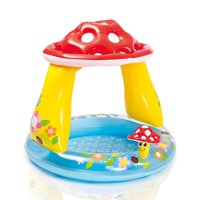 "Intex 40"" x 35"" Mushroom Baby Pool for Ages 1-3"